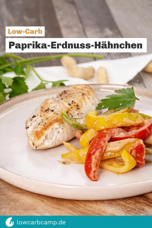 Paprika-Erdnuss-Hähnchen ? Ein Low-Carb Blitzrezept