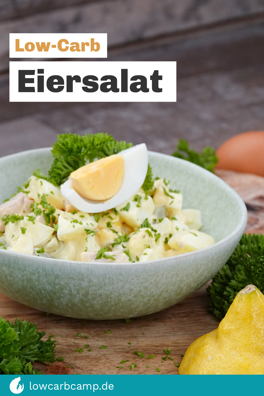 Low-Carb Eiersalat