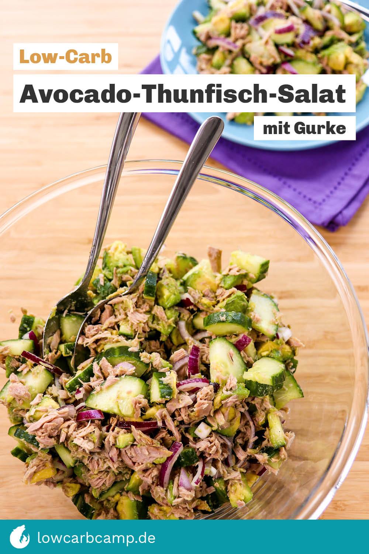 Avocado-Thunfisch-Salat mit Gurke