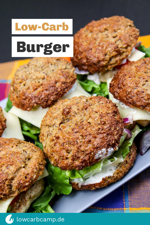 Low-Carb Burger herzhaft & gesund