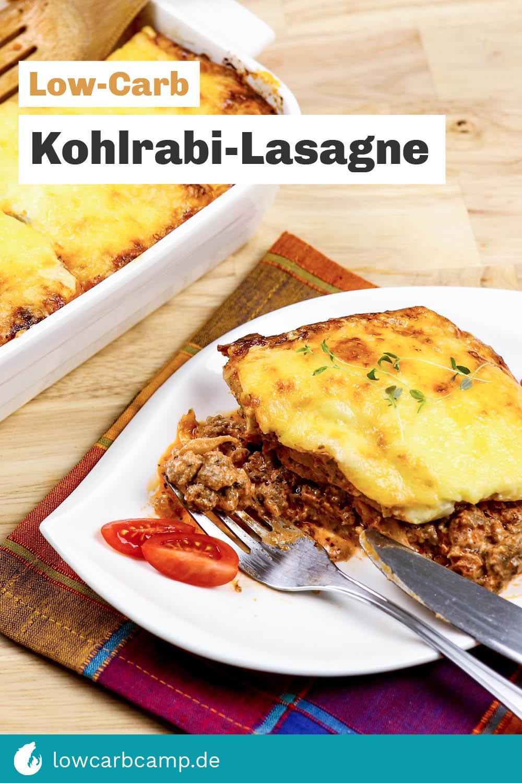 Kohlrabi-Lasagne – Lecker & Low Carb
