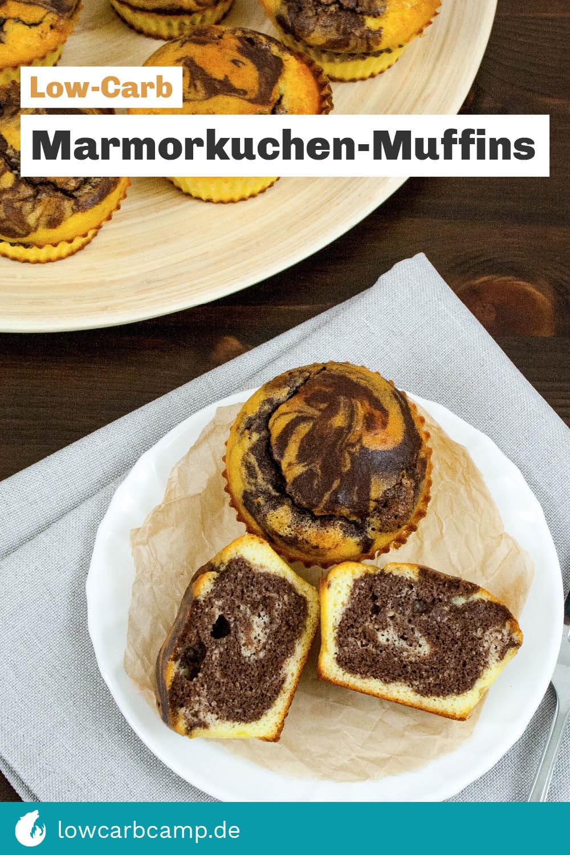 Marmorkuchen-Muffins