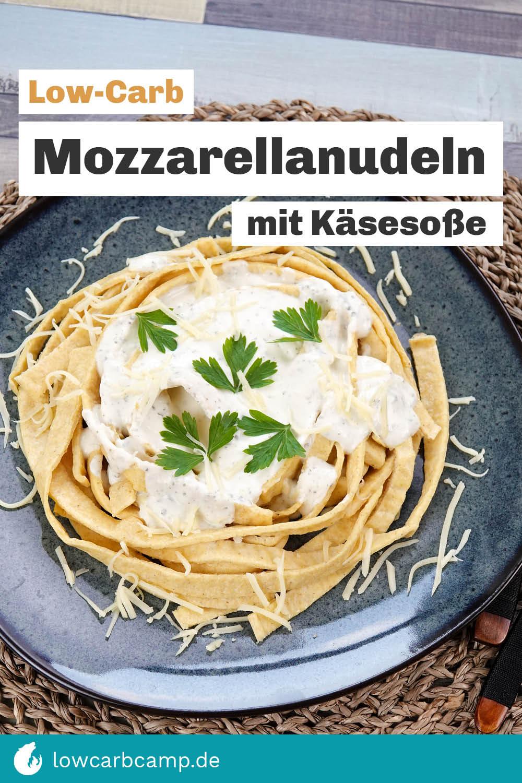 Mozzarellanudeln mit Käsesoße
