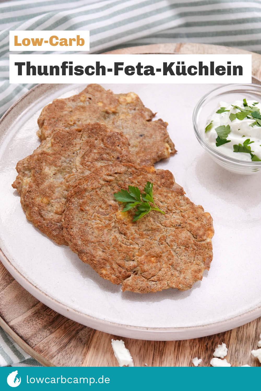 Thunfisch-Feta-Küchlein