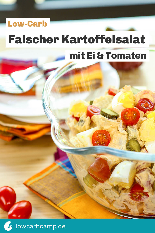 Falscher Kartoffelsalat Low-Carb
