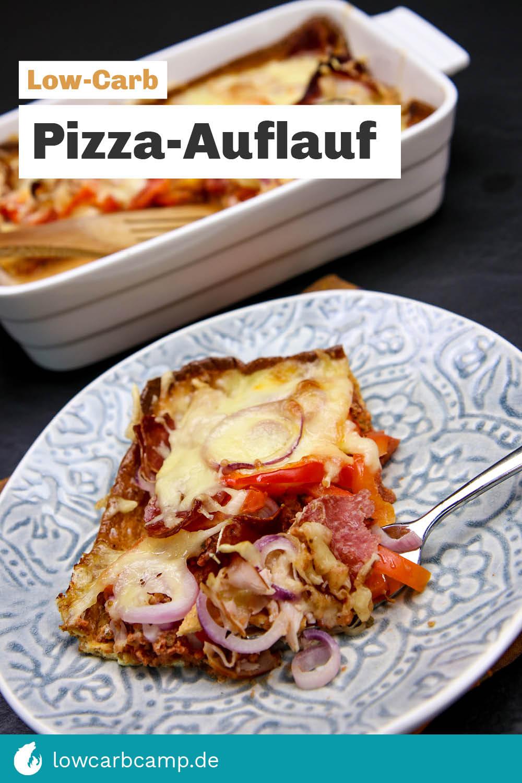 Pizza-Auflauf - Low-Carb Ofen-Schlemmerei