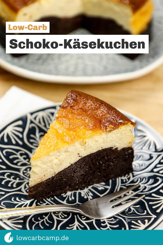 Schoko-Käsekuchen