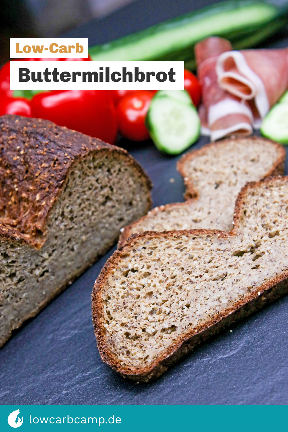 Buttermilchbrot Low-Carb