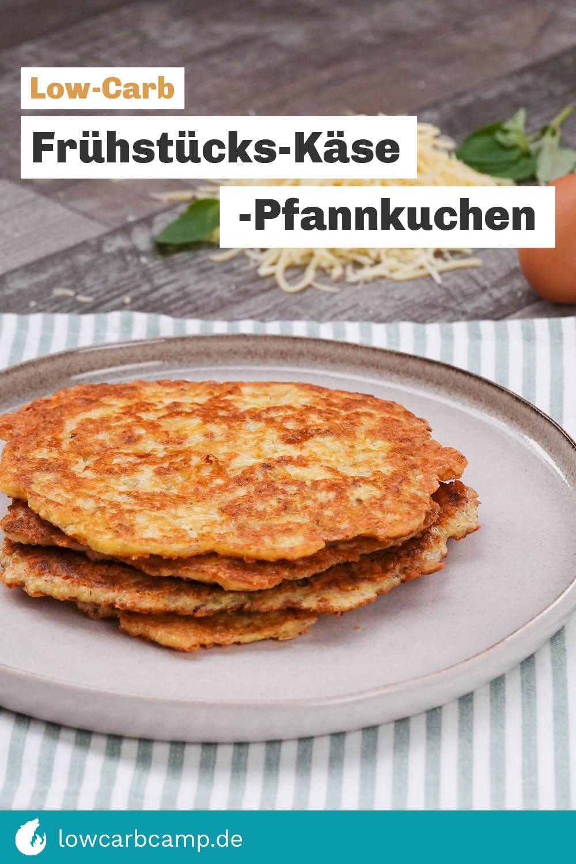 Frühstücks-Käse-Pfannkuchen
