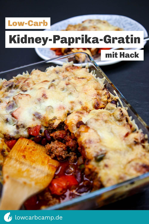 Kidney-Paprika-Gratin mit Hack