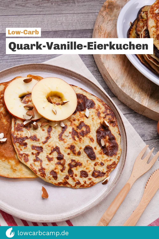 Quark-Vanille-Eierkuchen