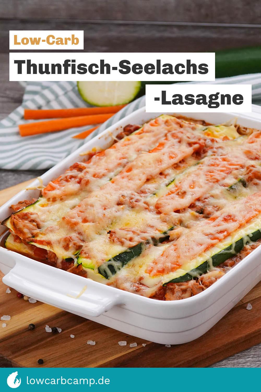 Thunfisch-Seelachs-Lasagne