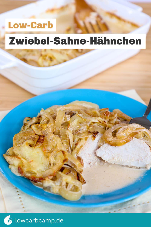 Zwiebel-Sahne-Hähnchen