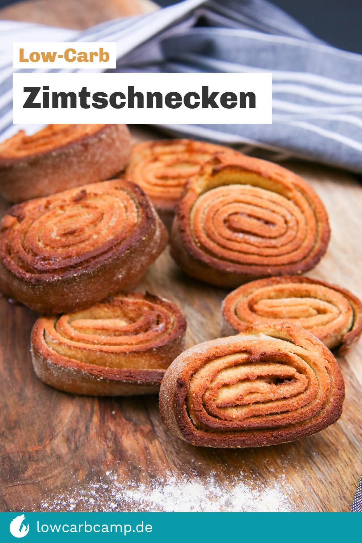 Zimtschnecken - Low Carb