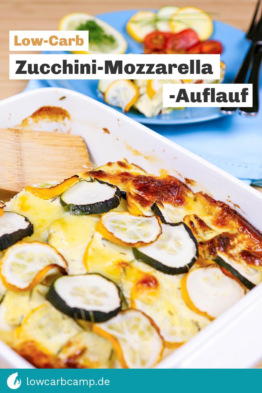 Zucchini-Mozzarella-Auflauf