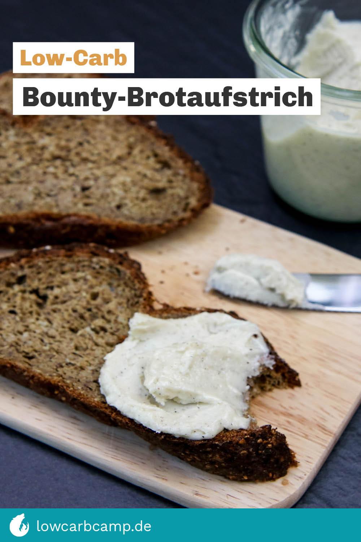 Low-Carb Bounty-Brotaufstrich!