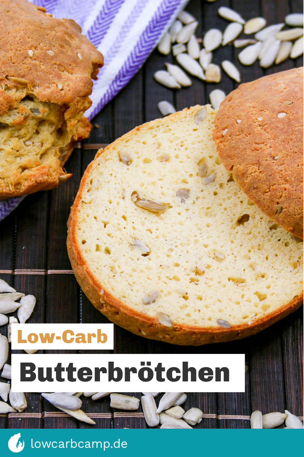 Butterbrötchen Low-Carb