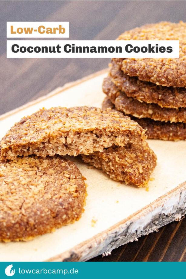 Coconut Cinnamon Cookies