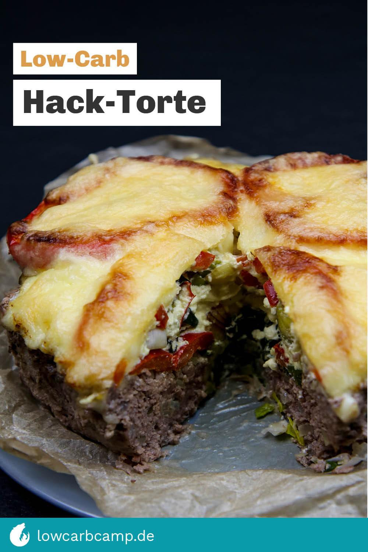 Hack-Torte (Low-Carb Rezept)