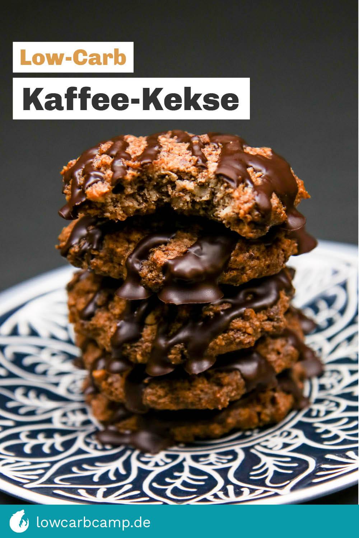 Low-Carb Kaffee-Kekse
