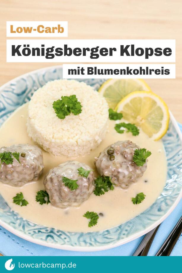 Low-Carb Königsberger Klopse