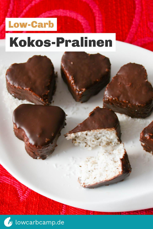 Low-Carb Kokos-Pralinen