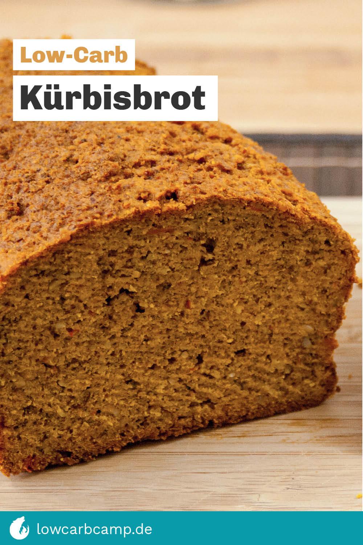 Low-Carb Kürbisbrot