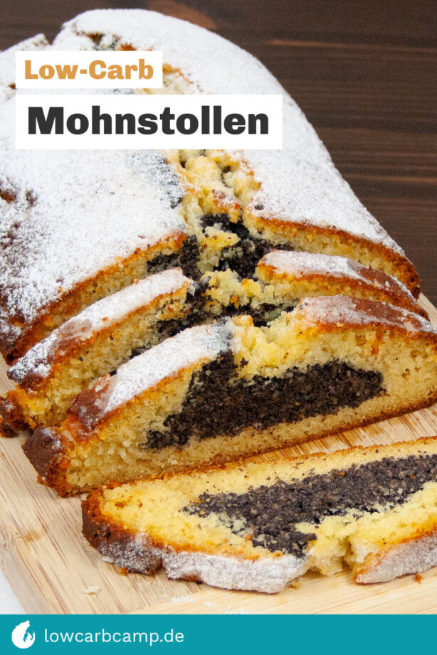 Low-Carb Mohnstollen