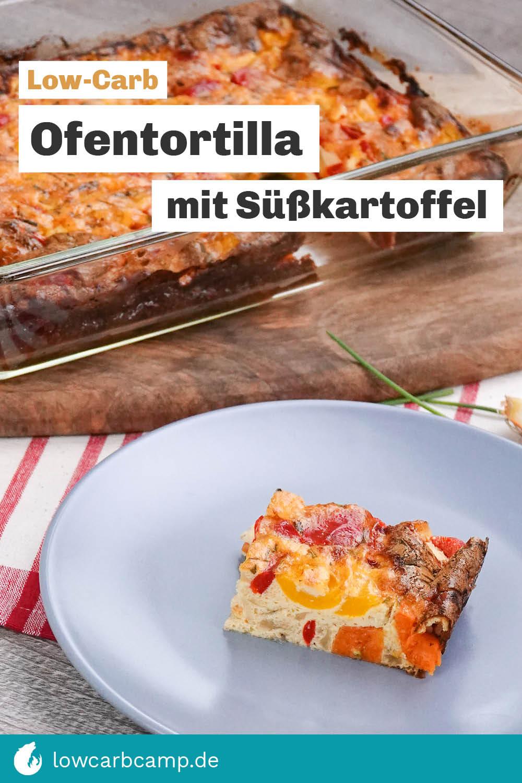 Ofentortilla mit Süßkartoffel