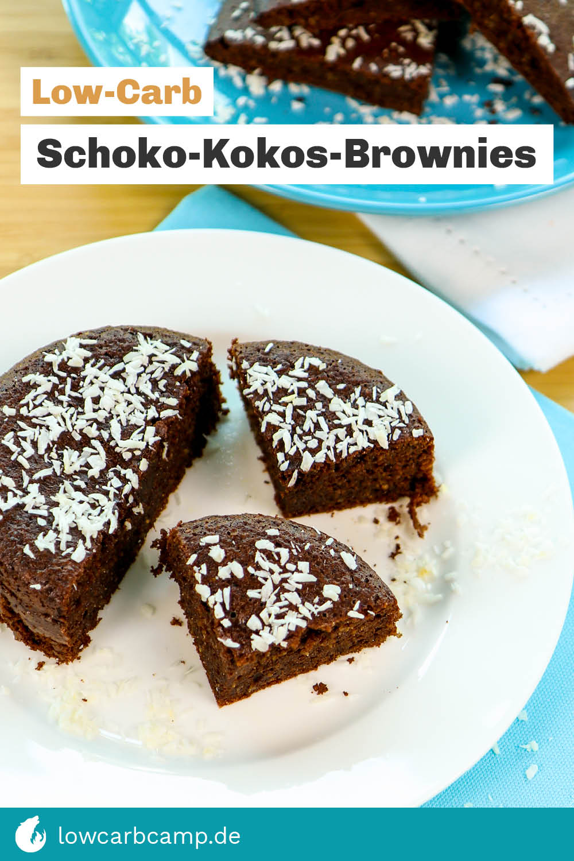Schoko-Kokos-Brownies