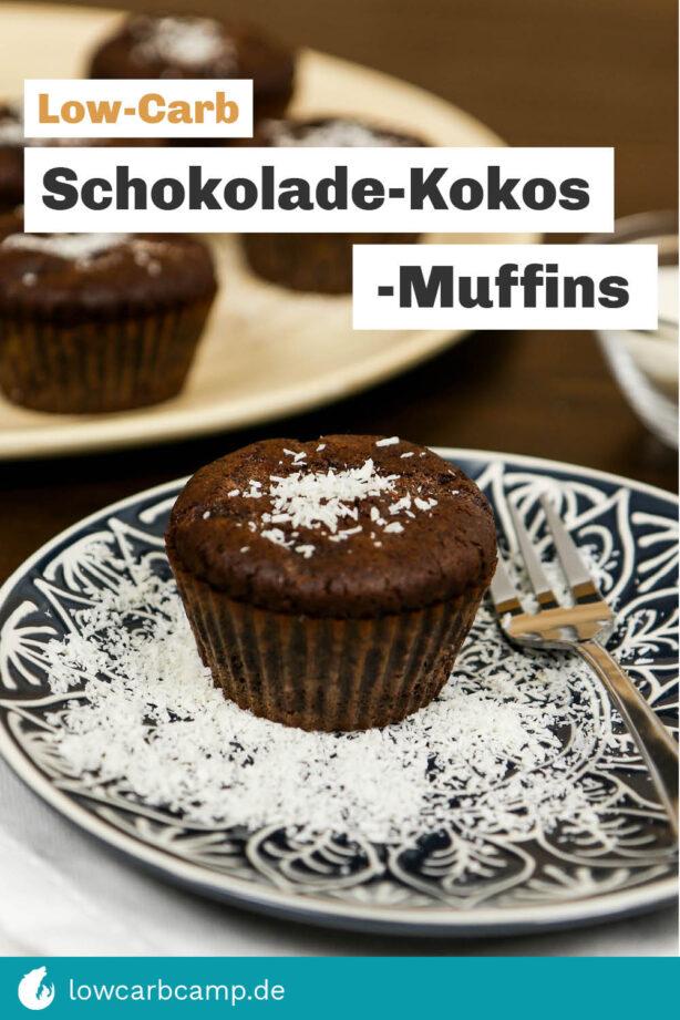 Schokolade-Kokos-Muffins