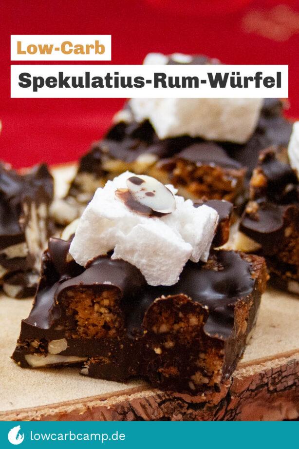 Spekulatius-Rum-Würfel