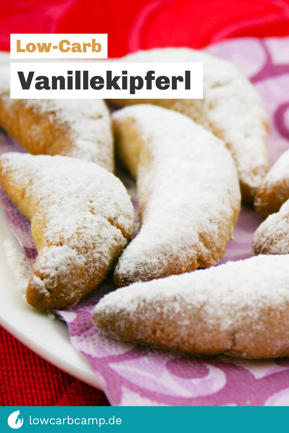 Vanillekipferl Low-Carb