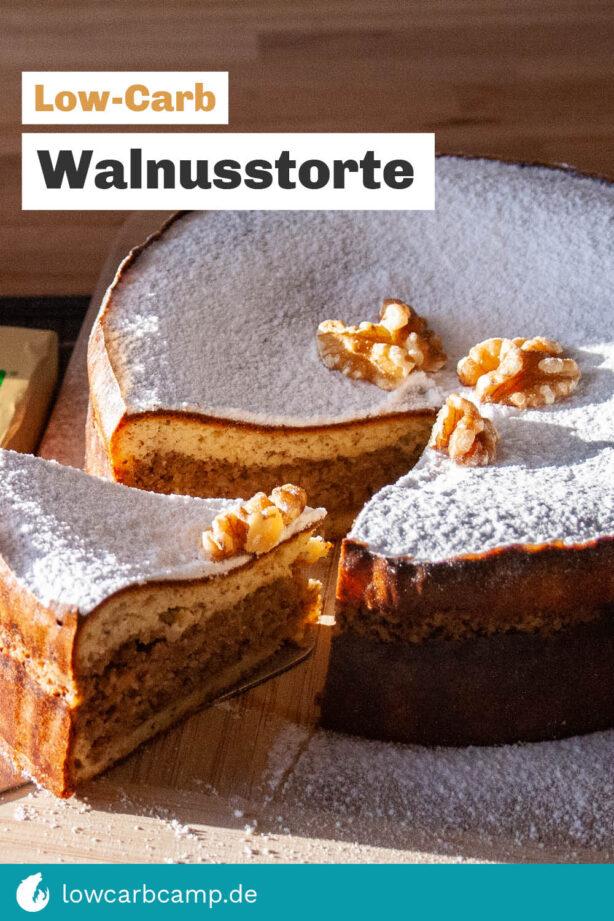 Walnusstorte Low-Carb
