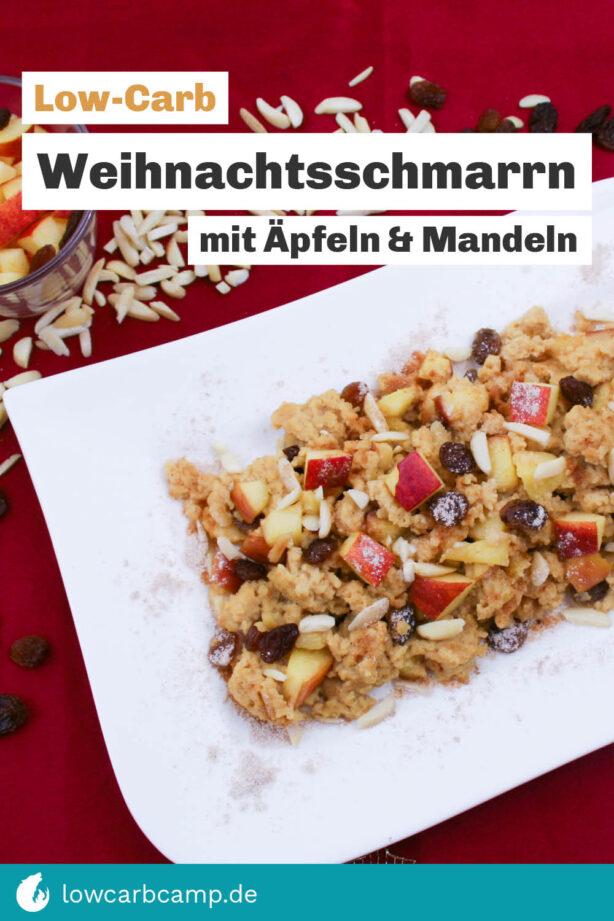 Weihnachtsschmarrn mit Äpfeln & Mandeln