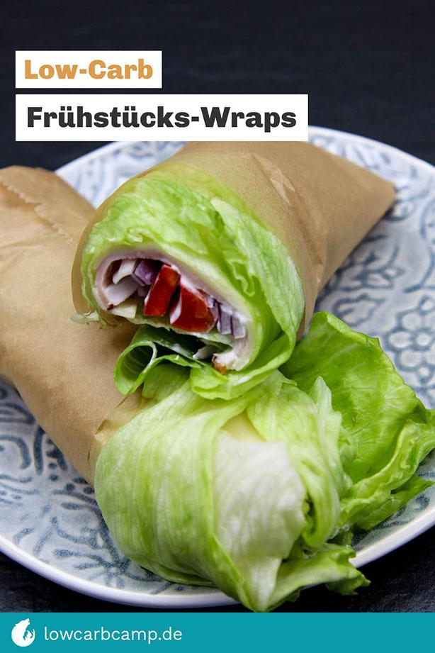 Low-Carb Frühstücks-Wraps