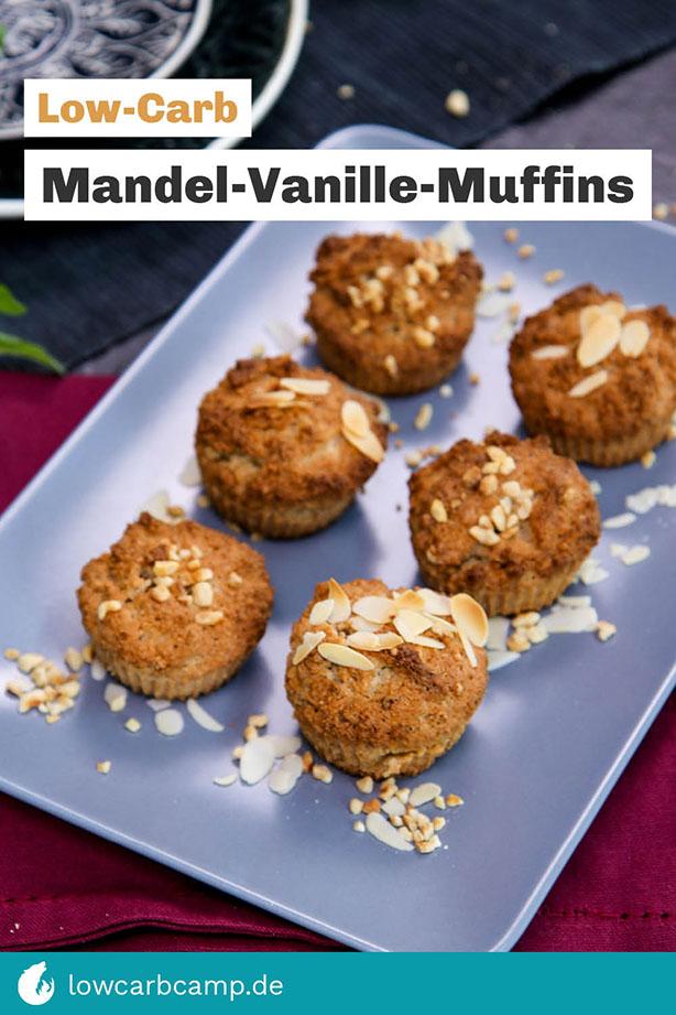 Mandel-Vanille-Muffins