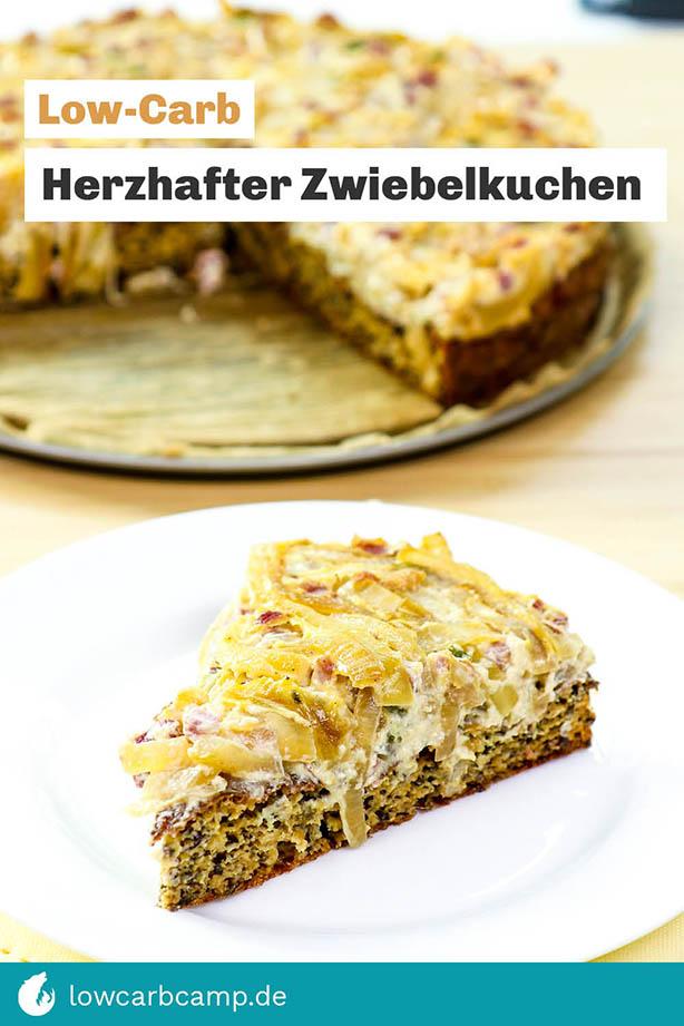 Low-Carb Zwiebelkuchen