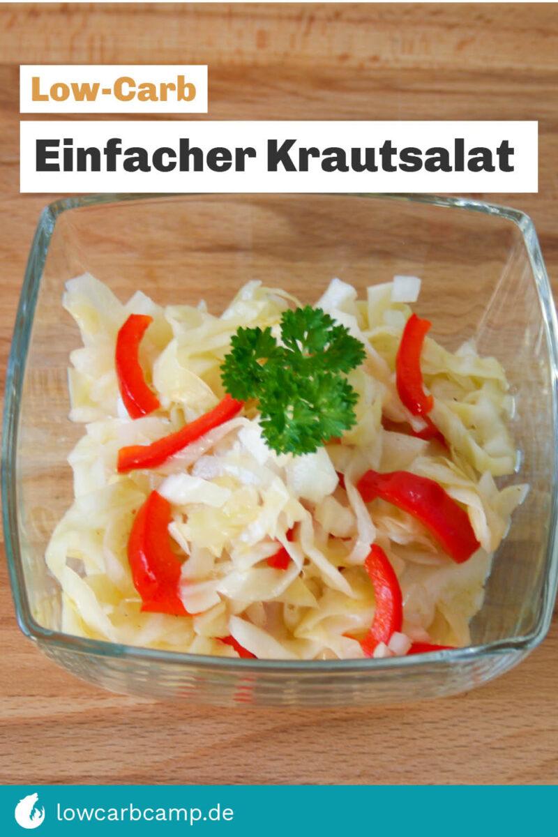 Einfacher Krautsalat