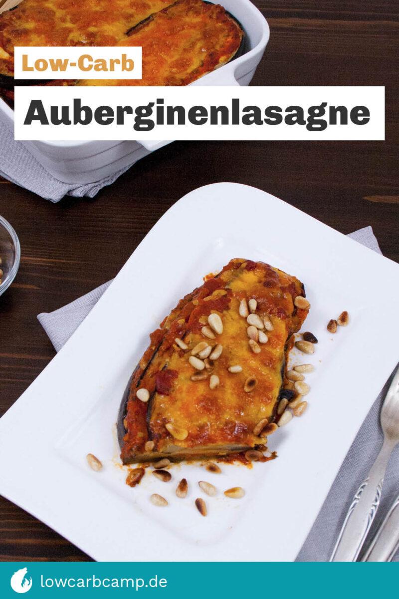Auberginenlasagne Low-Carb