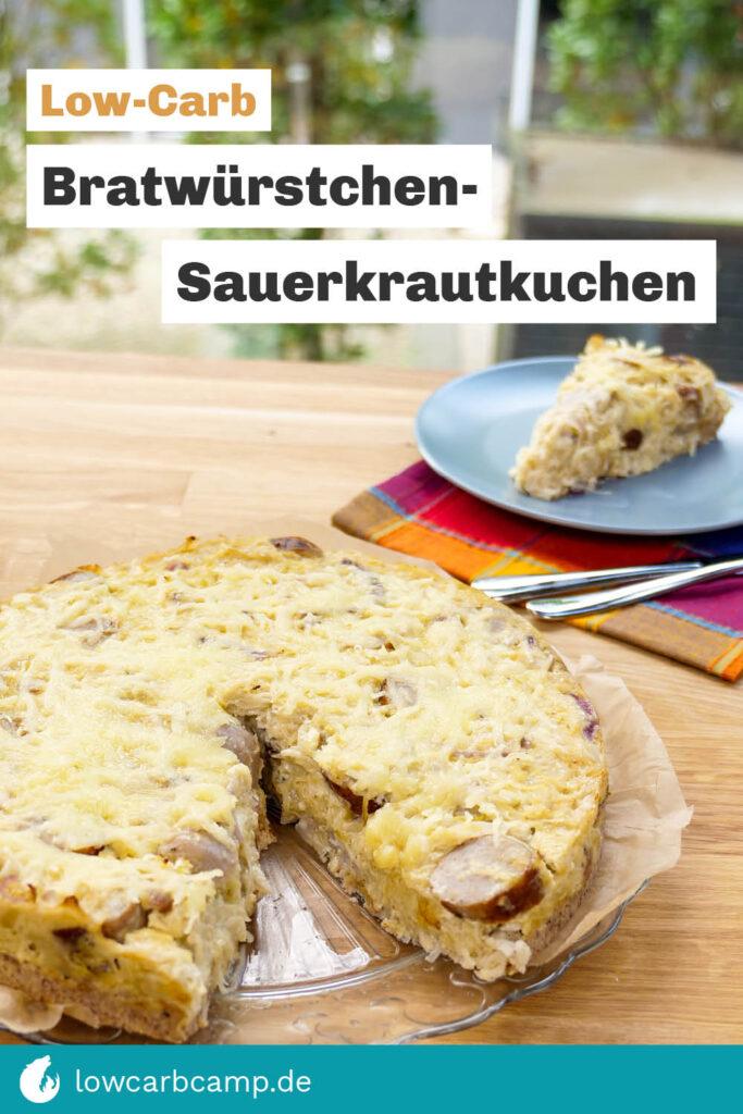 Bratwürstchen-Sauerkrautkuchen
