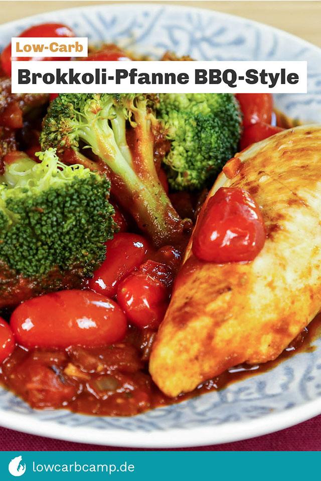 Brokkoli-Pfanne BBQ-Style