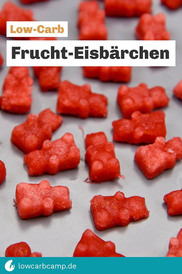 Low-Carb Frucht-Eisbärchen