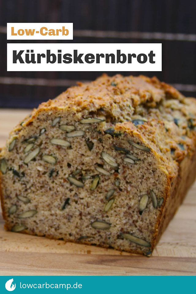Low-Carb Kürbiskernbrot