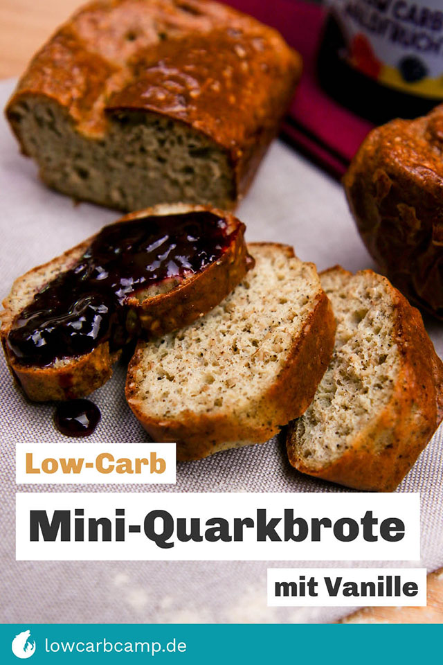 Mini-Quarkbrote mit Vanille