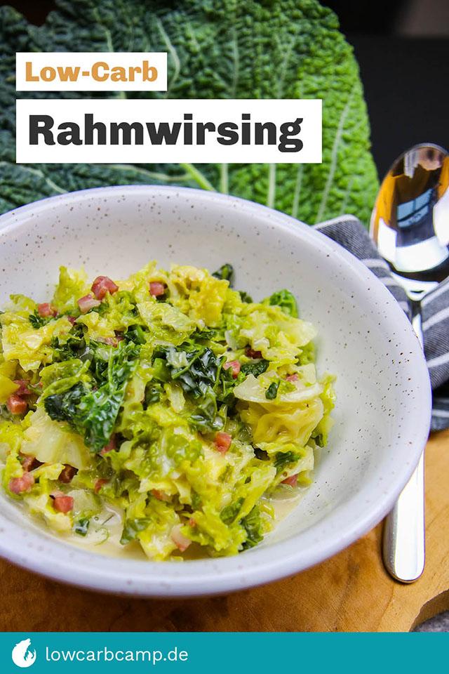 Rahmwirsing Low-Carb