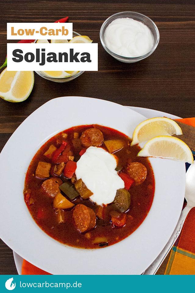 Low-Carb Soljanka