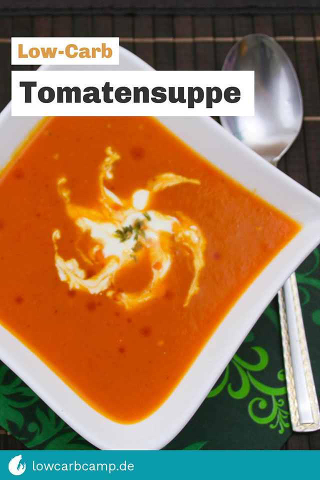 Tomatensuppe Low-Carb