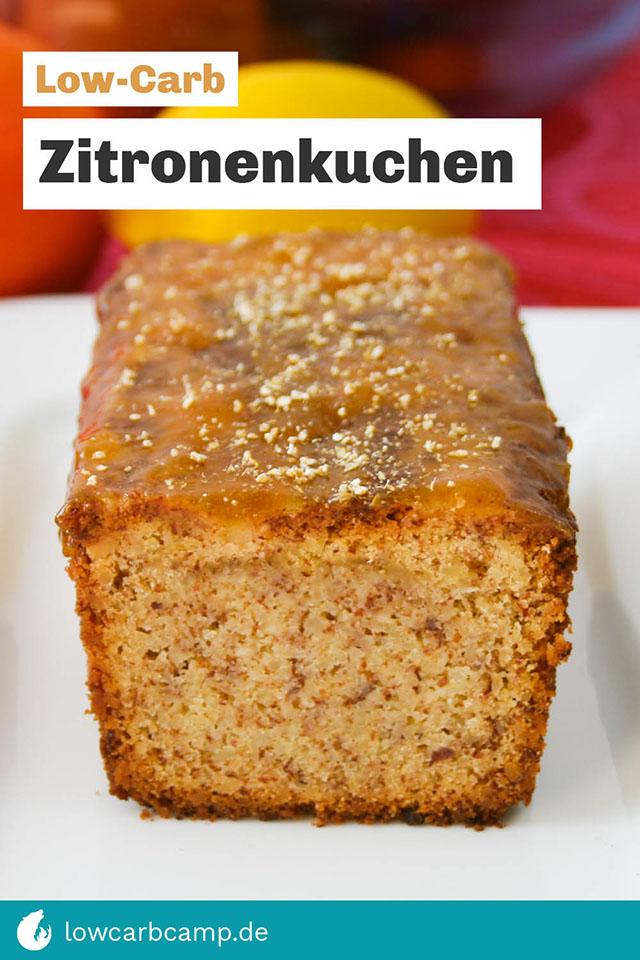 Zitronenkuchen Low-Carb
