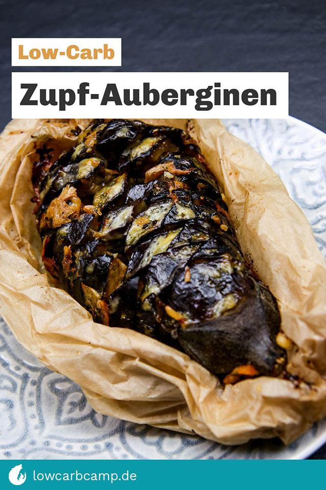 Zupf-Auberginen – Low-Carb